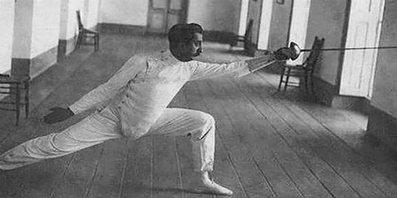 Ramón Fonst. Esgrimista cubano
