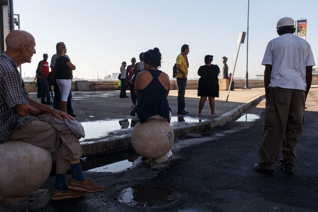 Cubans are waiting, anxious for some good news. Photo: Juan Suarez