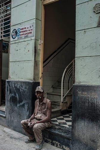 In Old Havana. Photo: Caridad