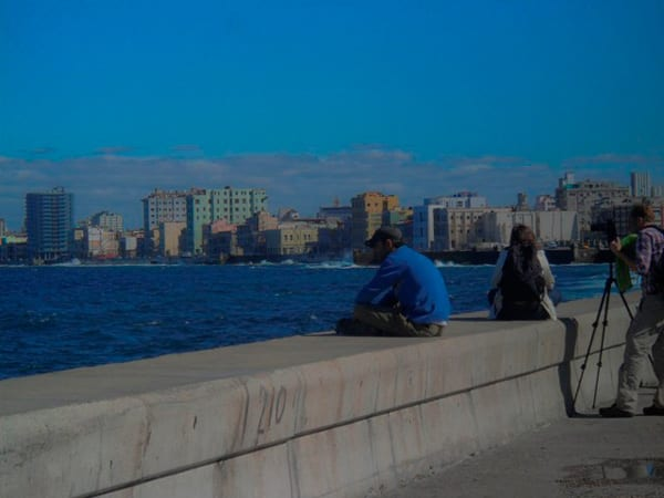 "The Havana ""malecon"" seawall. Photo: Ernesto Gonzalez"