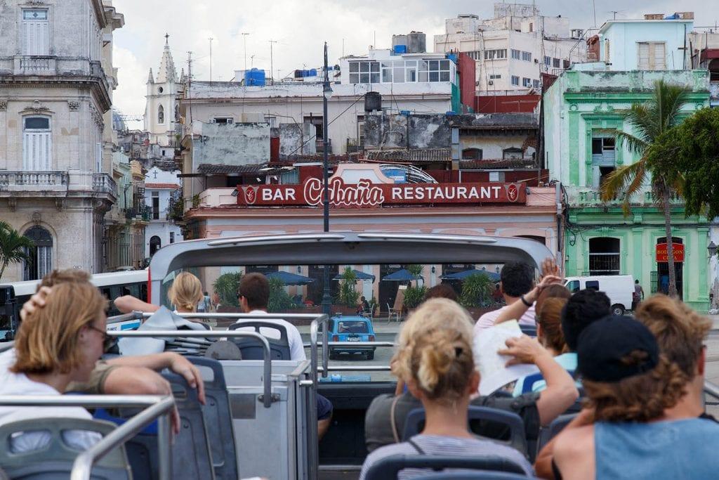 Turismo en La Habana. Foto: Juan Suárez