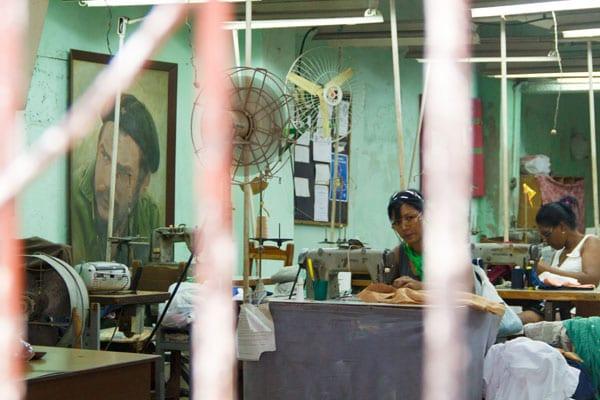 Trabajadoras.  Foto: Juan Suárez