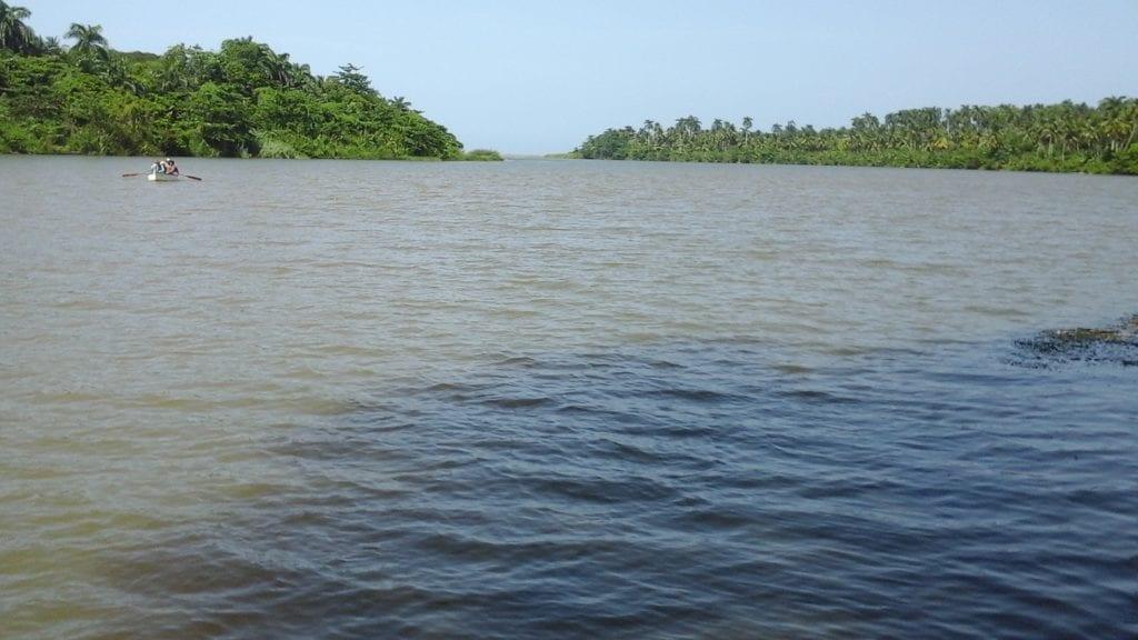 Desenbocadura del Rio Toa, Baracoa