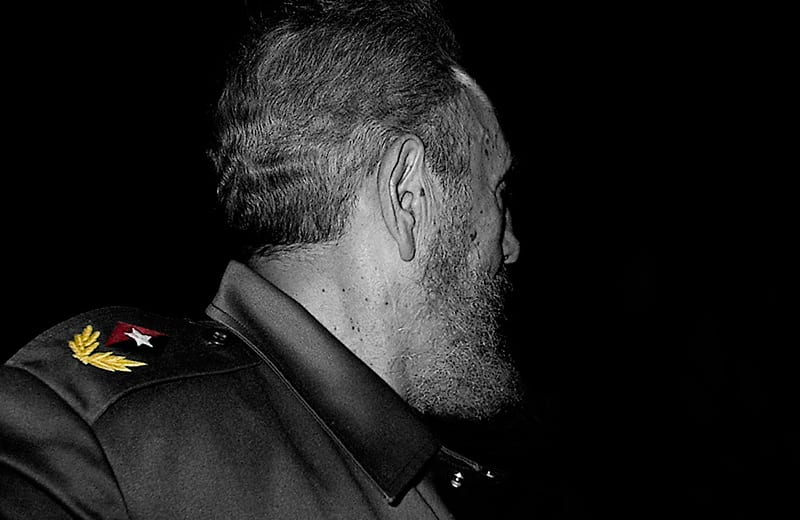 Fidel Castro. Photo: Raquel Perez Diaz