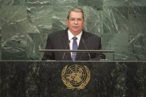 Omar Halleslevens, the current Nicaraguan vice president in a speech to the United Nations.