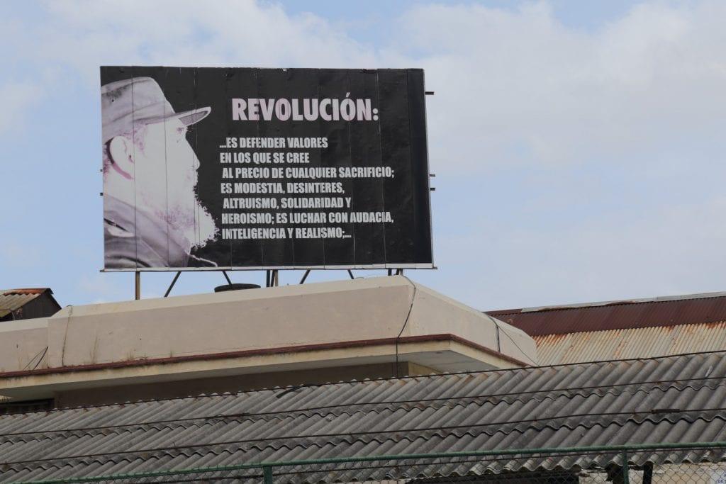 Fidel Castro's concept of Revolution.