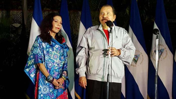 Danel Ortega and his wife/VP candidate Rosario Murillo. Photo: el19digital.com
