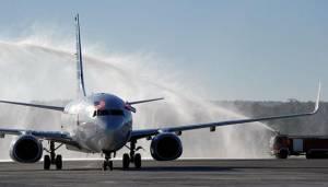 Vuelo de American Airlines llega a La Habana. Foto: cubadebate.cu