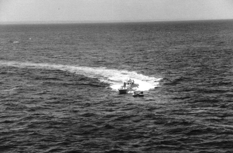 US Coast Guard heading towards Miami.