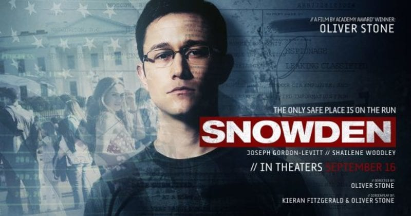Snowden will be shown by Oliver Stone at the 38th Havana Film Festival.