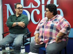 Alfonso Malespin and Azucena Castillo. Photo: Olga Sanchez/confidencial