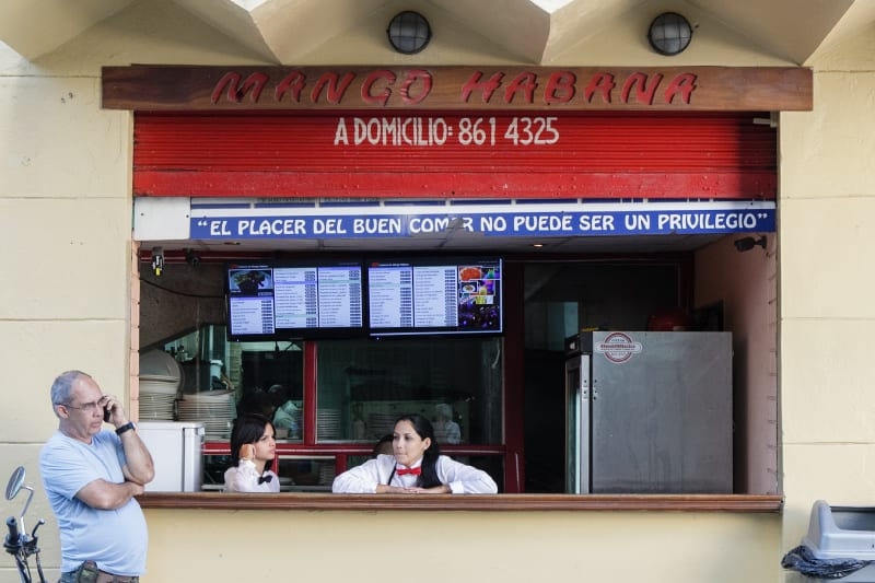Cafeteria particular. Photo: Juan Suarez