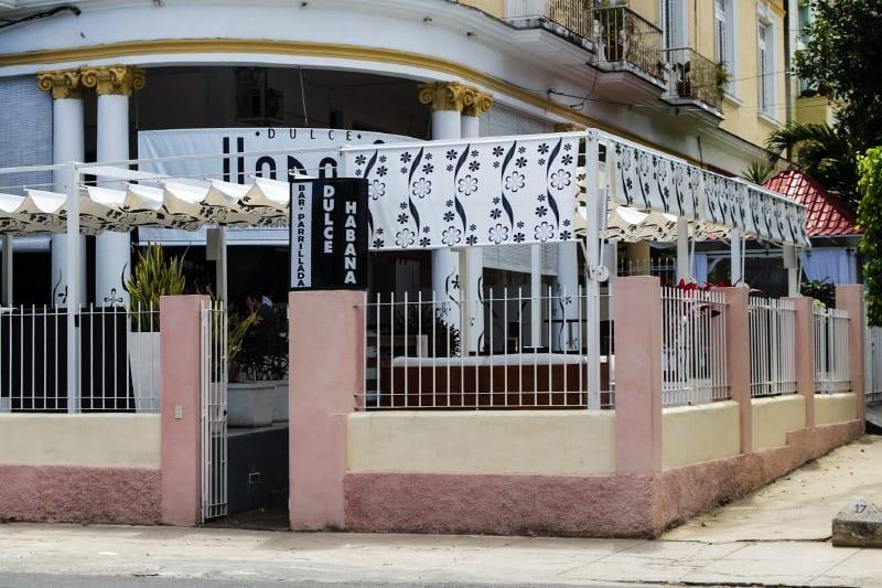 Dulce Havana, a private sweets shop. Photo: Juan Suarez