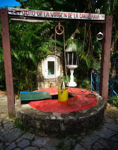 The Virgin's well.