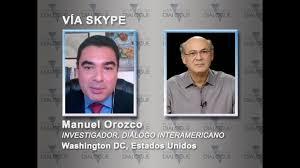 Manuel Orozco y Carlos Fernando Chamorro