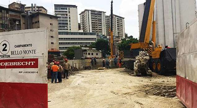 One of the Odebrecht project sites in Venezuela. Photo: talcualdigital.com