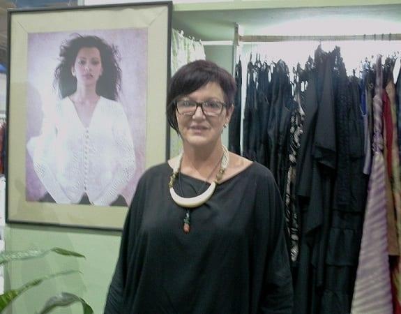 Diseñadora de vestuario Lourdes Trigo.