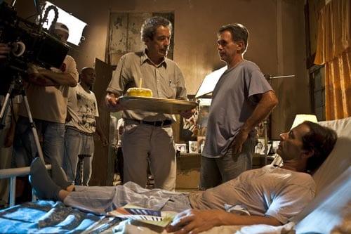During the filming of The Last Days in Havana by Fernando Pérez: Photos: Jaime Prendes