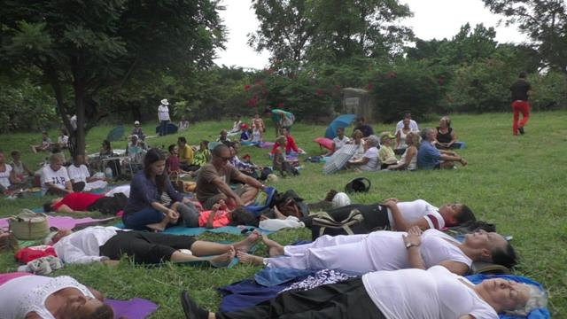 "First ""America Meditates"" Gathering in Cuba for World Peace"