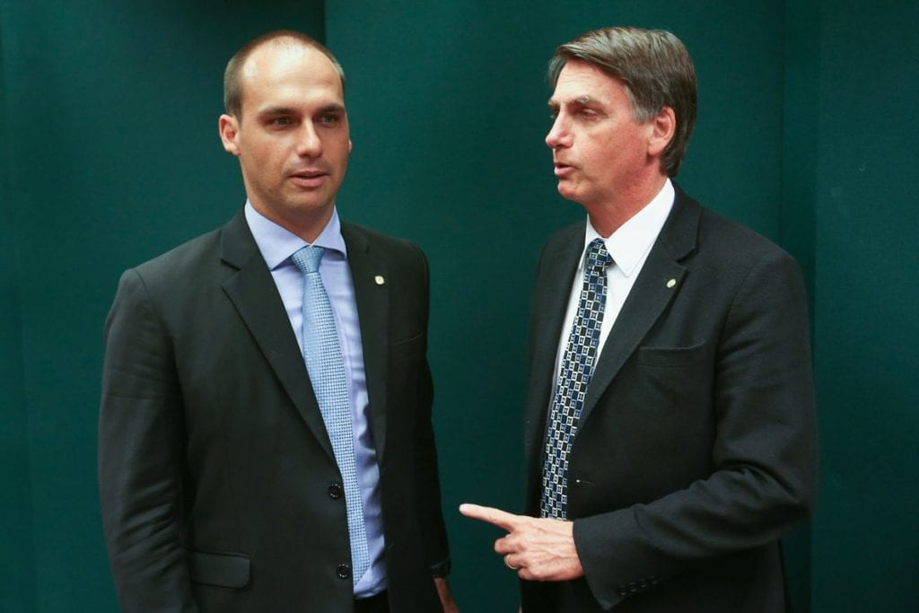 Brazil's Bolsonaro offers his son the post of ambassador in Washington