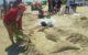 Escultura en arena - La Sirena