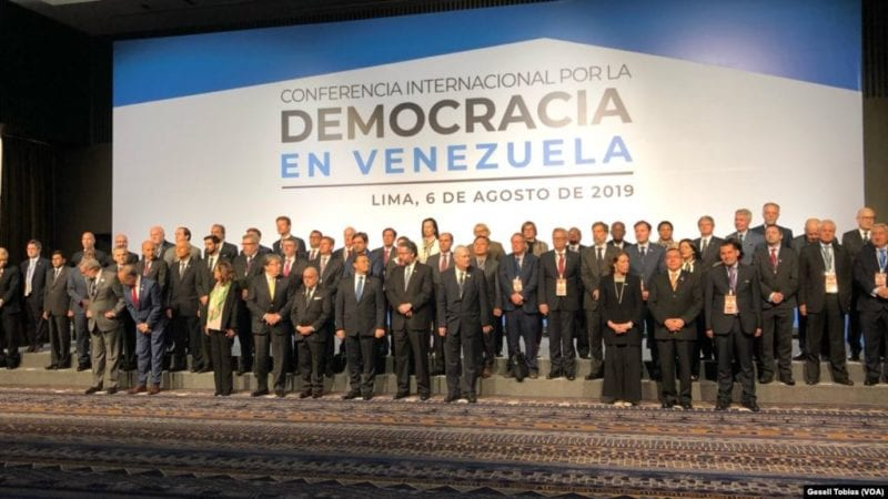 Maduro suspends dialogue with opposition for backing U.S.  embargo
