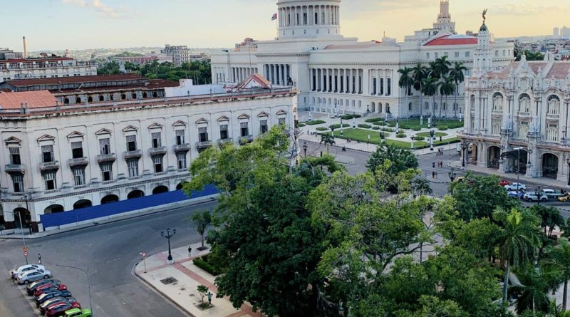 Central Park & the Capitolio, Havana – Photo of the Day