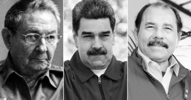 Three dictatorships in Latin America on International Human Rights Day