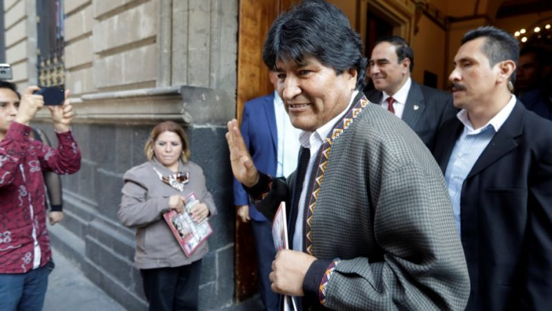 Refugee status: Morales arrives in Argentina to seek asylum